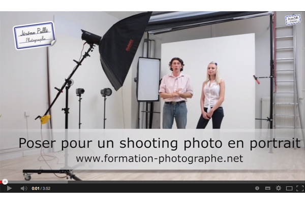 Comment poser pour un shopping photo portrait