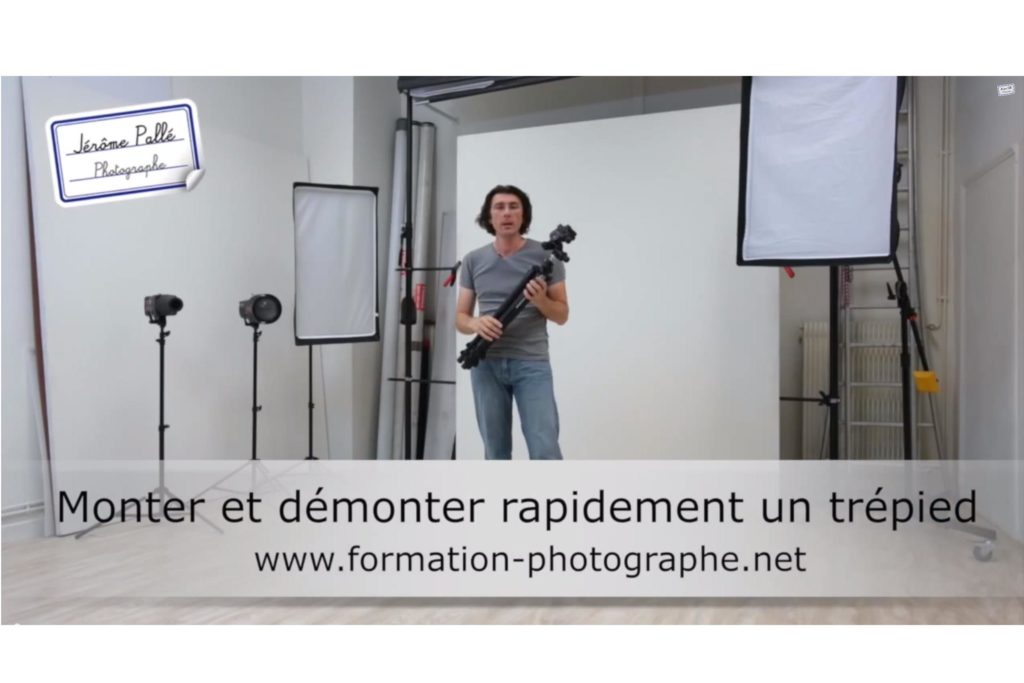 Comment monter ou démonter un trépied photo rapidement
