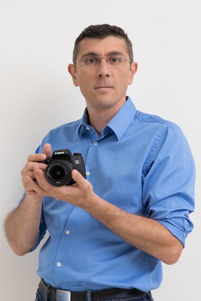 Portrait de Jérôme Pallé, photographe professionnel et formateur en photographie, auteur du site Formation-Photographe.net