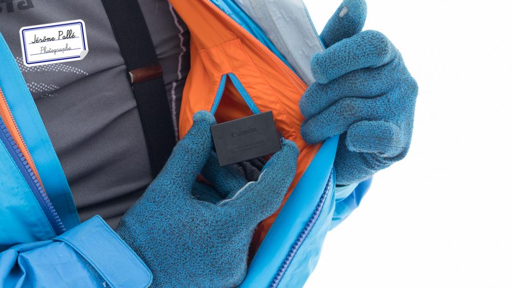 Attention à bine garder les batteries au chaud quand on photographie sur la neige.