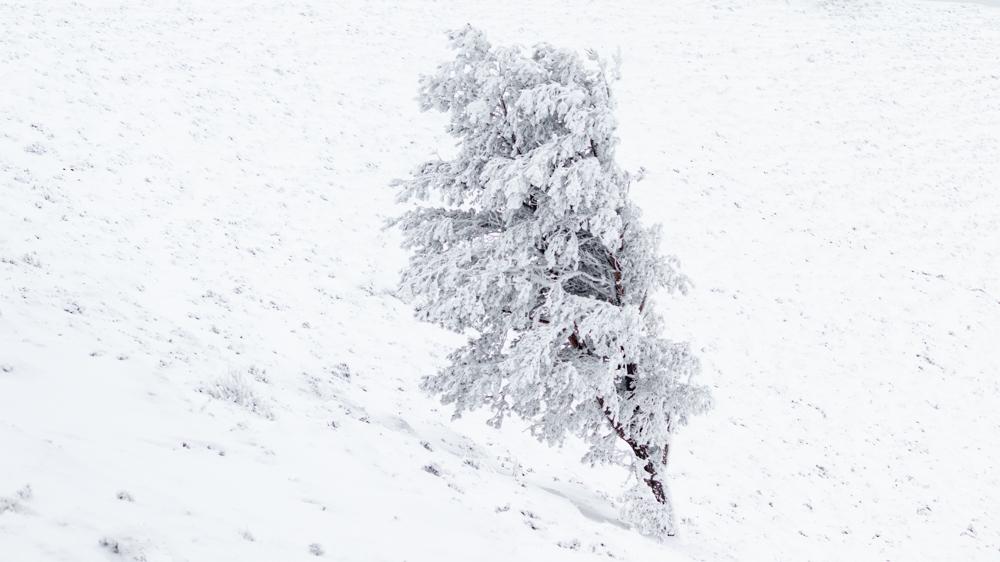 Ajuster l'exposition pour un paysage de neige